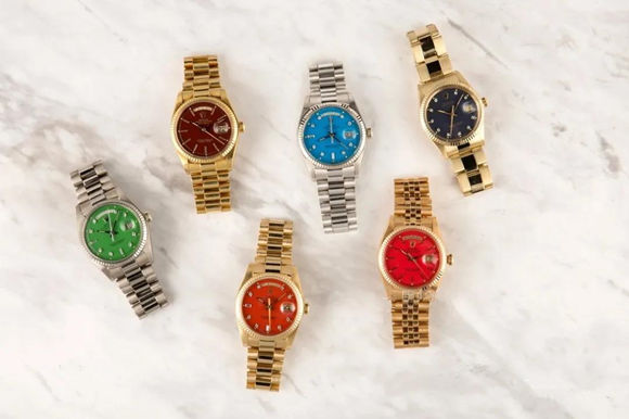 Replica Rolex Color Dial Oyster Perpetual Watches